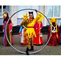 Alena Shakirova  Stilts/Sire wheel